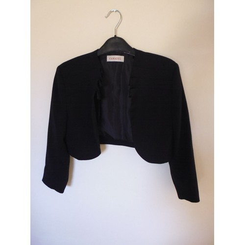 Veste bolero noire femme