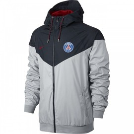 veste coupe vent nike psg authentic windrunner ref 810301 012. Black Bedroom Furniture Sets. Home Design Ideas