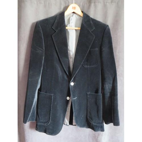 veste de costume homme velours 40 noir achat et vente. Black Bedroom Furniture Sets. Home Design Ideas