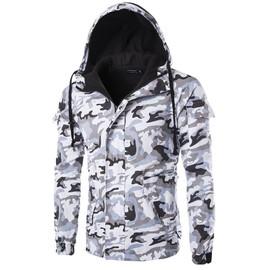 Camouflage Veste Manteau Homme Décontractée En Coton De Blouson Mode Xx08Cwq1