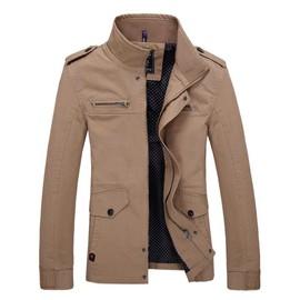 Debout Blouson De Veste Col Rakuten Hommes Vêtement Printemps Mode qTxw67