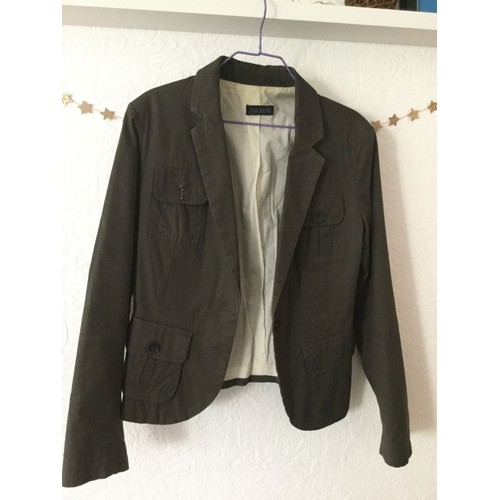 Et Achat Militaire 40 Taille Coton Vente Look Veste Kaki Ikks qUn80