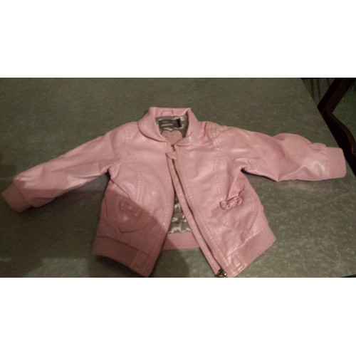 Veste Bonbon Simili Perfecto Girl Orchestra Mois Cuir 12 Baby Rose 1Fqrw1SWP