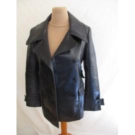 Veste 67 Des 36 Style Noir À Cuir Comptoir Cotonniers Taille drxCBoe