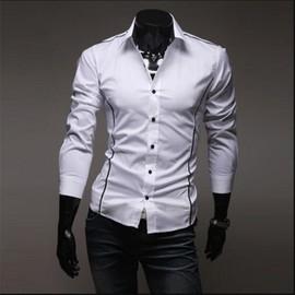 2076ad7d92 vetement-homme-ete-confortable-chemise-homme-manches-longues -de-marque-de-luxe-2017-nouvelle-arrivee-blouse-meilleure-qualite-couleur- blanc-gris-noir-grande ...