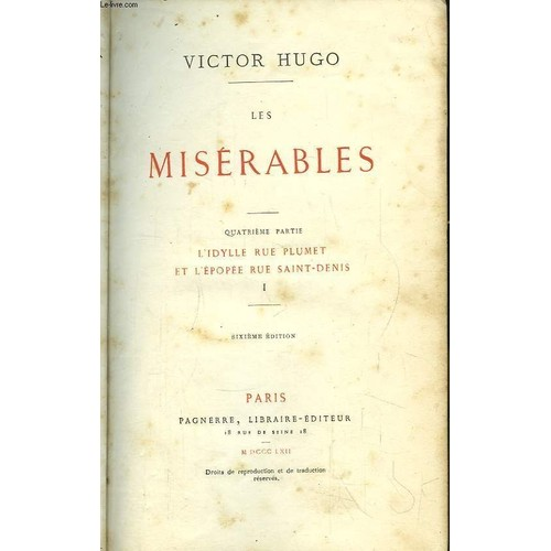 les mis question notes st denis Chapter i—from the rue plumet to the quartier saint-denis   the minister of public worship, a very angry and confidential note on the subject,.