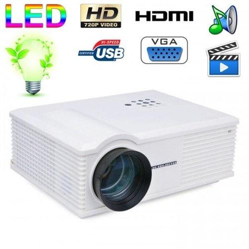 Vid oprojecteur led 170w 3000 lumens full hd 1080p home - Videoprojecteur home cinema pour un interieur ultra moderne ...