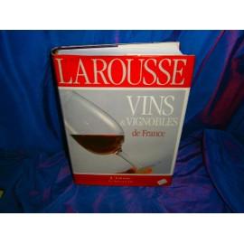 Vins Et Vignobles De France de Collectif