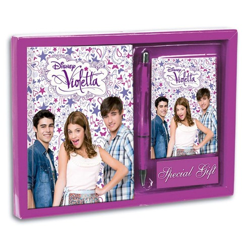 violetta coffret carnet de note stylo et journal intime. Black Bedroom Furniture Sets. Home Design Ideas