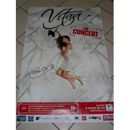 Vitaa A Fleur De Toi Affiche Musique Concert Poster Rakuten