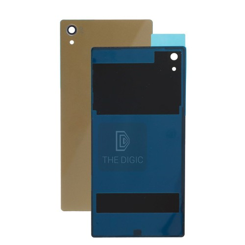 vitre arri re pour sony xperia z5 premium or pas cher. Black Bedroom Furniture Sets. Home Design Ideas