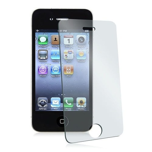 vitre film de protection en verre tremp cran incassable pour iphone 4 4s. Black Bedroom Furniture Sets. Home Design Ideas