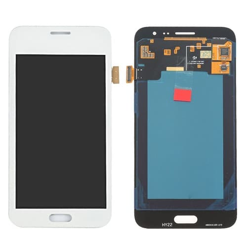 vitre tactile cran lcd assembl s blanche pour samsung galaxy j3 j320f j320a 2016 blanc. Black Bedroom Furniture Sets. Home Design Ideas