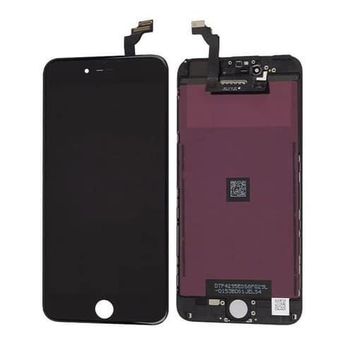 Vitre tactile ecran lcd iphone 6 plus noir 5 5 outils for Ecran photo noir iphone 5