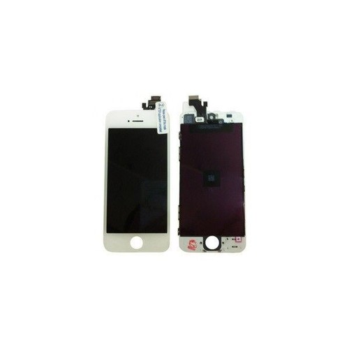 vitre tactile cran lcd pour iphone 5 blanc pas cher priceminister rakuten. Black Bedroom Furniture Sets. Home Design Ideas
