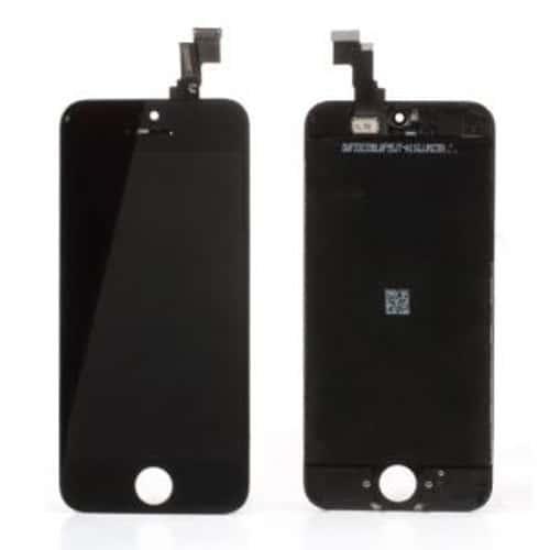 vitre tactile noire pour iphone 5c cran lcd noir retina pr mont avec chassis outils. Black Bedroom Furniture Sets. Home Design Ideas