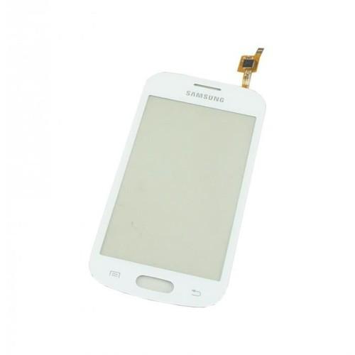 Vitre tactile samsung galaxy trend lite blanc s7390 pas - Samsung galaxy trend lite appareil photo ...