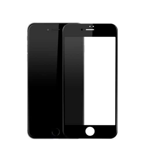 vitre verre tremp protection 3d film cran int gral total couleur iphone 7 noir. Black Bedroom Furniture Sets. Home Design Ideas