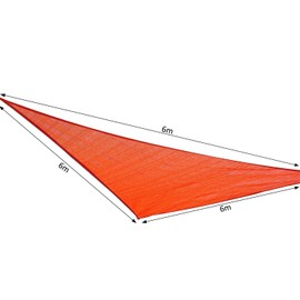 Voile D'Ombrage Triangulaire Grande Taille 6 X 6 X 6 M ...