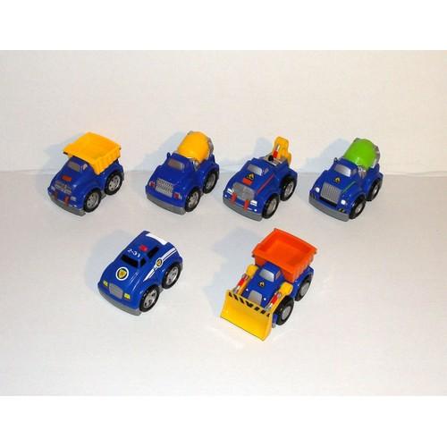 Bleu Voiture Bloks Modulables Mega Camion Lot Jouets 6 Interchangeables Modele rshdQtC