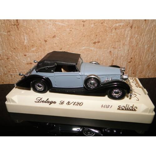 voiture delage d8 120 1939 collection age d 39 or neuf et d 39 occasion. Black Bedroom Furniture Sets. Home Design Ideas