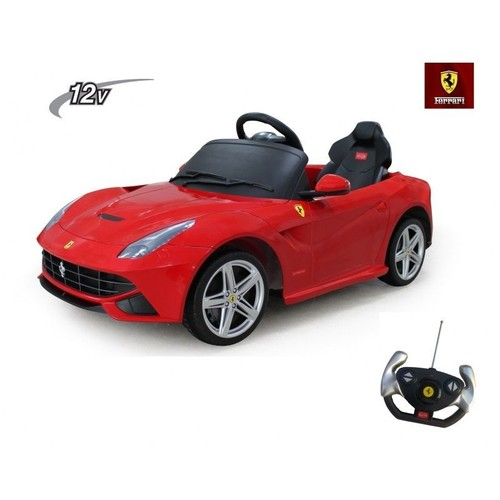 voiture lectrique 12v pour enfant ferrari f12 neuf et d 39 occasion. Black Bedroom Furniture Sets. Home Design Ideas