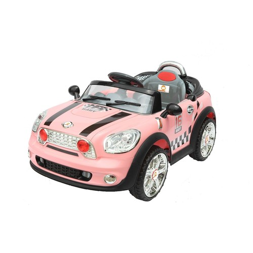 voiture lectrique 6v mini cooper rose pour enfant neuf et d 39 occasion. Black Bedroom Furniture Sets. Home Design Ideas