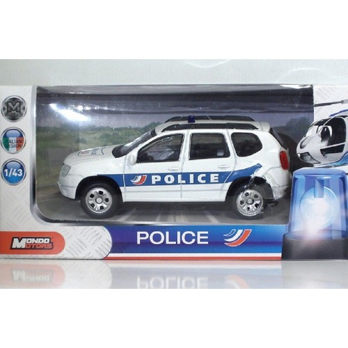 voiture miniature duster dacia police echelle 1 43 m tal mondo motors design italian. Black Bedroom Furniture Sets. Home Design Ideas