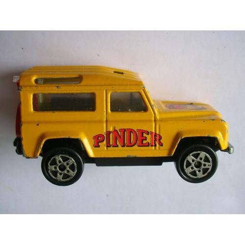 voiture miniature land rover pinder echelle 1 60 majorette. Black Bedroom Furniture Sets. Home Design Ideas