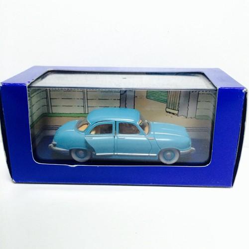voiture miniature tintin le taxi panhard coke en stock. Black Bedroom Furniture Sets. Home Design Ideas