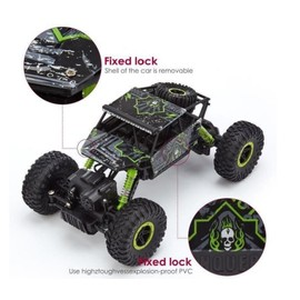 voiture t l command 4x4 v hicules tout terrain 4wd chelle 1 18 2 4 ghz remote control voitures. Black Bedroom Furniture Sets. Home Design Ideas