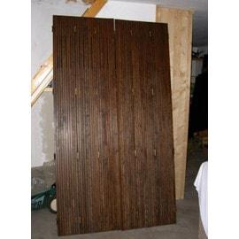 volets persiennes pliants en pin lasur s 2245 x 1250 x 14 mm pas cher. Black Bedroom Furniture Sets. Home Design Ideas