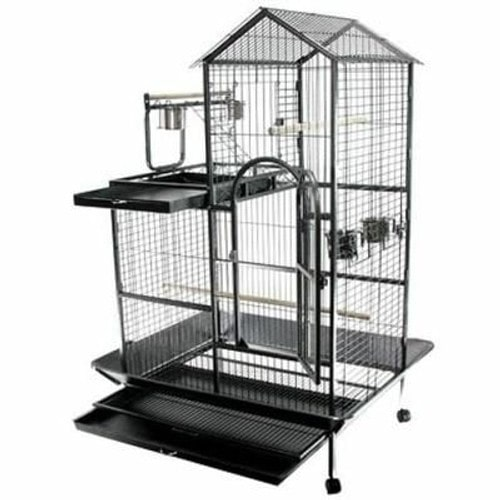 voli re cage pour perroquet perruche milan 93x60x160cm rakuten. Black Bedroom Furniture Sets. Home Design Ideas