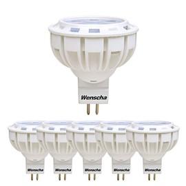 À Énergétique 6 Wensha Ampoules Led Mr16 De 3 50w12v Spot 550lmBlanc Équivaut Ampoule Lot APour 7w Classe Halogène Chaud Gu5 2700k tdrshQ