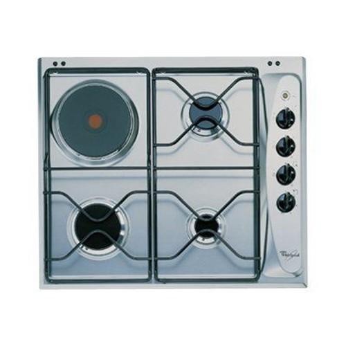 whirlpool akm261ix table de cuisson gaz et lectrique. Black Bedroom Furniture Sets. Home Design Ideas