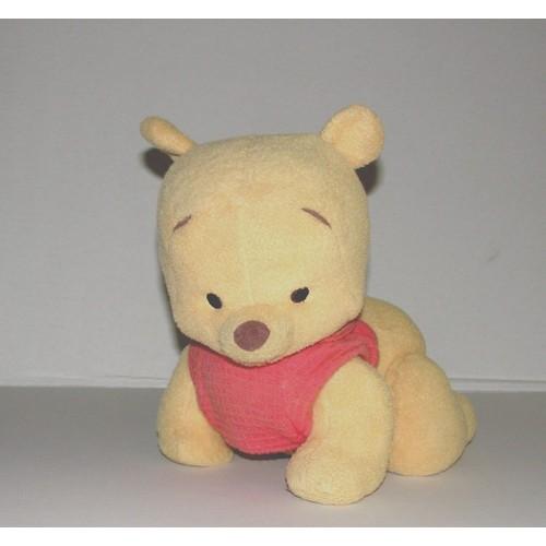 Winnie l 39 ourson b b trotteur parle trotte peluche - Tete winnie l ourson ...