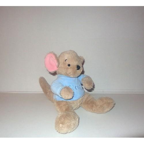 Winnie l 39 ourson petit gourou roo le kangourou tous doux doudou peluche exclusivit disney store 20cm - Frais de port gratuit disney store ...