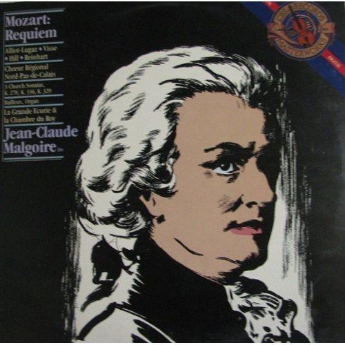 Wolfgang Amadeus Mozart: Requiem K 626; Church Sonata, Sonate D'église, - wolfgang-amadeus-mozart-requiem-k-626-church-sonata-sonate-d-eglise-kirchensonate-k-278-k-336-k-329-jean-claude-malgoire-la-grande-ecurie-et-la-chambre-du-roy-colette-alliot-lugaz-dominique-visse-gregory-reinhart-odille-bailleux-941213530_L