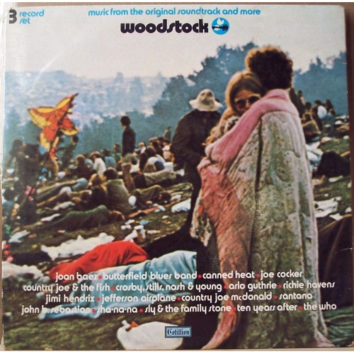 Woodstock 3lp Original France Biem 1969 Woodstock 1