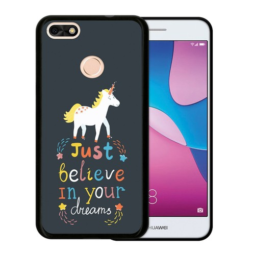 coque silicone huawei y6 pro 2017 licorne