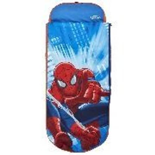Worlds apart ready bed matelas gonflable spiderman avec - Matelas gonflable enfant avec sac de couchage ...