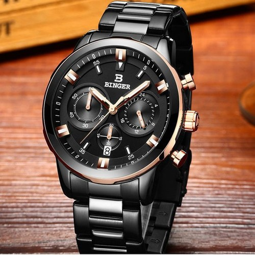 wtb hot vente 2016 prestige suisse montre homme binger marque quartz pleine inoxydable montres. Black Bedroom Furniture Sets. Home Design Ideas