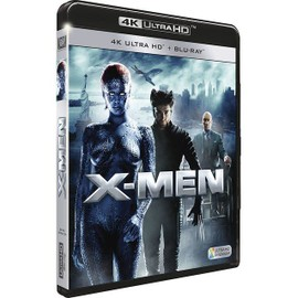 X-Men - 4k Ultra Hd + Blu-Ray de Bryan Singer