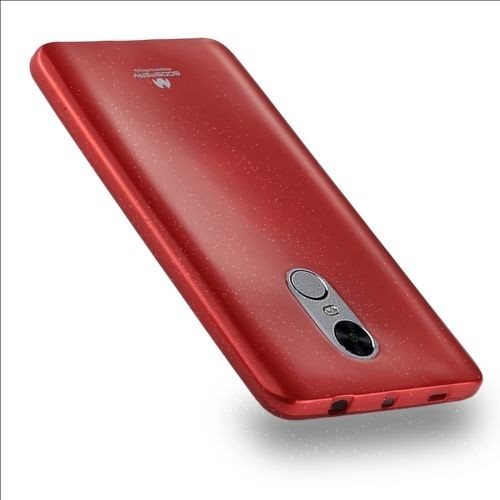 Xiaomi Redmi Note 4 Coque Protection Tpu Couverture Complete Rouge