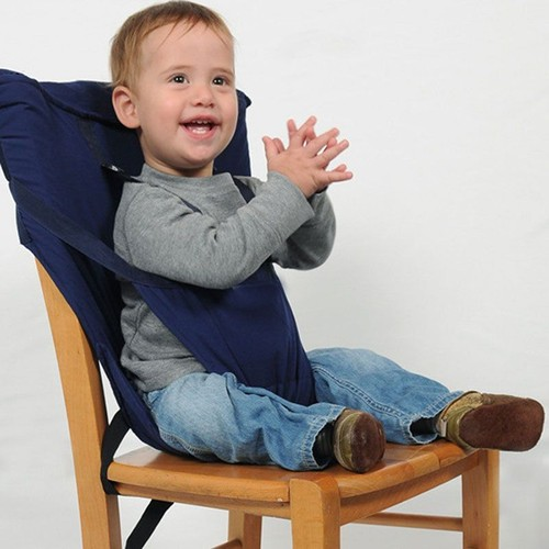 Yarui world bleu marine coussin housse chaise si ge harnais s curit confort pour repas b b enfant - Coussin pour chaise bebe ...