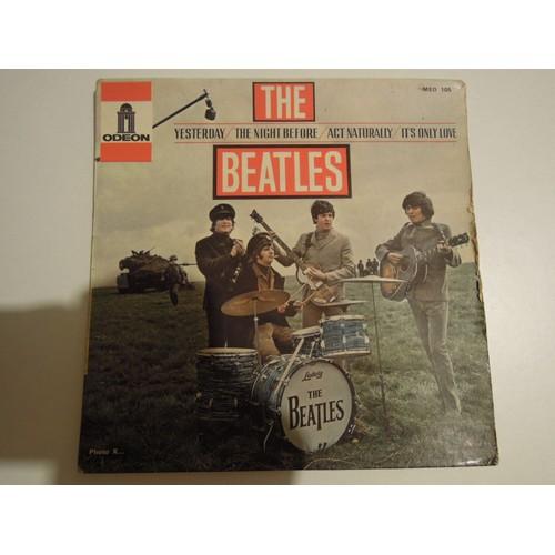 Yesterday Pochette Sans Disque The Beatles