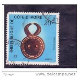 Yt Cote Ivoire 1976 N�399 - Masque Baoule