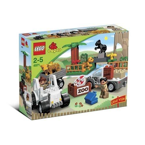 zoo lego duplo 4971 achat vente de jouet rakuten. Black Bedroom Furniture Sets. Home Design Ideas