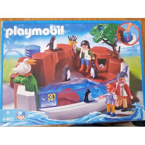 zoo playmobil 4462 pingouin achat vente de jouet. Black Bedroom Furniture Sets. Home Design Ideas