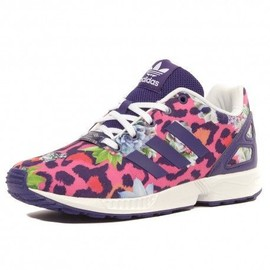 best authentic 20282 724fb Zx Flux Fille Chaussures Violet Rose Adidas